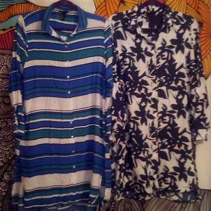 2 H &M Tunics